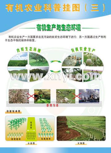 提供服务有机农业科普挂图-(ny类)-深圳美彩标语商场