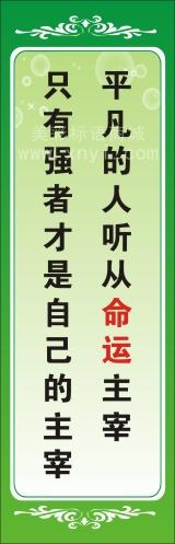 学校教育标语