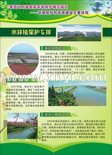 环境保护模范城区挂图
