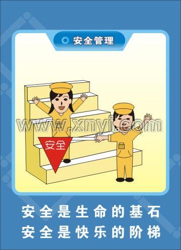 安全管理漫画挂图