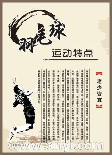 体育运动简介海报