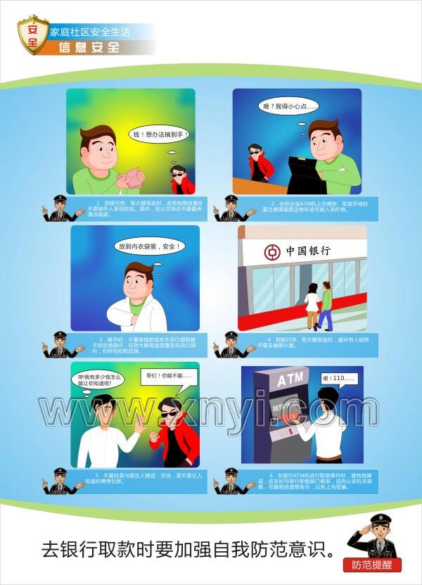 预防诈骗宣传挂图
