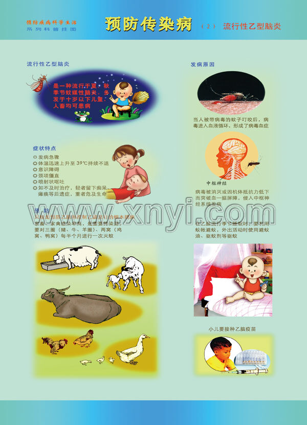 预防传染病知识挂图_(yl类)